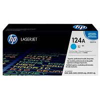 Картридж HP CLJ  124A Cyan, CLJ 1600/2600 (Q6001A)