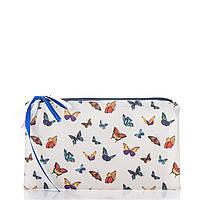 Женская косметичка «Текстура бабочки»