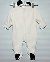 Комбинезон махровый для новорожденных Панда