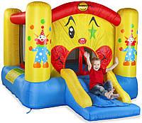 """Детский надувной батут игровой центр аттракцион """"Веселый клоун с горкой"""" Happy Hop"""