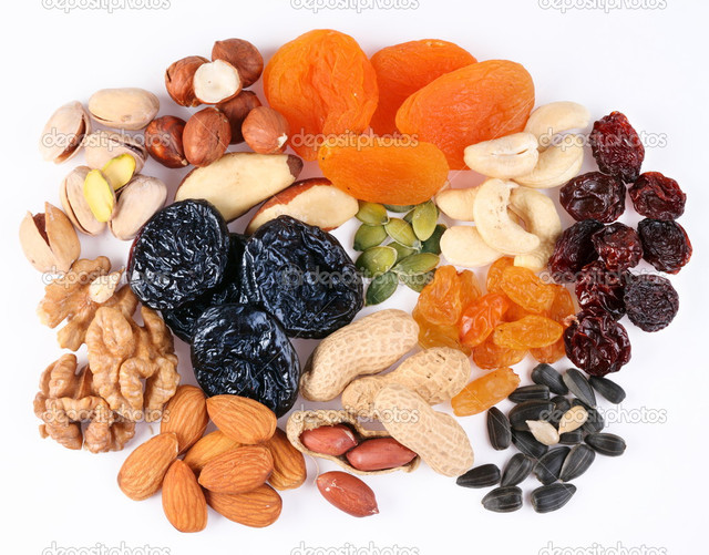 Орехи, сухофрукты, семечки