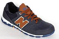 Кроссовки подростковые синие New Balance