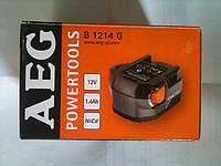 Аккумулятор AEG 12V 1,4 A/h