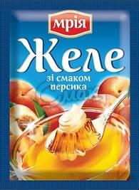 Желе со вкусом персика Мрия, 90 г, фото 2