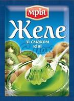 Желе со вкусом киви Мрия, 90 г