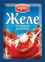 Желе со вкусом клубники Мрия, 90 г, фото 2