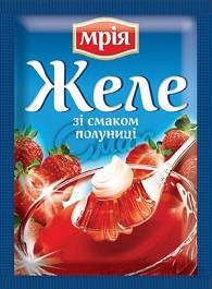 Желе со вкусом клубники Мрия, 90 г