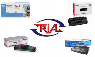 Заправка картриджей к лазерным принтерам Canon, HP, Samsung, Xerox