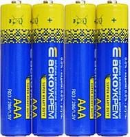 Батарейка солевая AАА.R03.S4 (shrink 4)