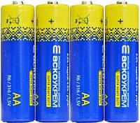 Батарейка солевая AА.R6.S4 (shrink 4)