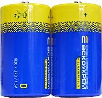 Батарейка сольова D.R20.S2 (shrink 2)