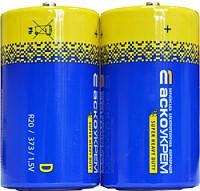 Батарейка солевая D.R20.S2 (shrink 2)