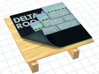 Подкладочный ковер DELTA-ROOF экологичность кровли !