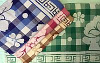 """Метровые полотенца """"Роза"""" лен+махра (6 шт)"""