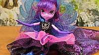 My Little Pony Equestria Girls Rainbow Rocks Deluxe Dress Twilight Sparkle Супер модница рок звезда Искорка