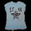 Костюм футболка и бриджы на 116,122 рост, Турция (бирюзовый), фото 2