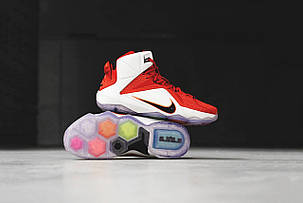 Мужские кроссовки Nike LeBron 12 Heart Of Lion 684593 601, Найк Леброн, фото 2