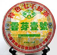 """Чай Шен Пуэр Цзи Цин Бин """"Пу Вэнь"""" 2006 Год,  От 10 Грамм, фото 1"""