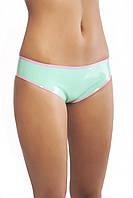 Трусики-шортики из латекса с контрастной отделкой Latex Panties With Trim