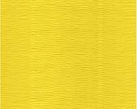 Гофрированная бумага ярко-желтая (50 х 250 см)