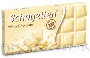 Шоколад Schogetten (Шогеттен) Белый, 100 г, фото 2