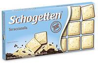 Шоколад Schogetten (Шогеттен) Белый с шоколадной крошкой , 100 г