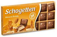 Шоколад Schogetten (Шогеттен) Молочный с миндалем, 100 г