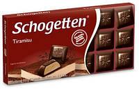 Шоколад Schogetten (Шогеттен) Черный тирамису, 100 г