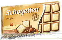 Шоколад Schogetten (Шогеттен) Трилогия, 100 г