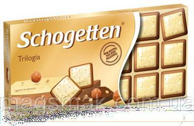 Шоколад Schogetten (Шогеттен) Трилогия, 100 г, фото 2