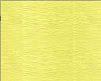 Гофрированная бумага желтая яркая (50 х 250 см)