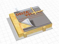 Диффузионная трехслойная мембрана для полностью утеплённых крыш. DELTA VENT N/ PLUS