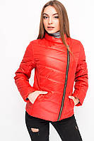 Женская весенняя куртка яркого цвета на синтепоне