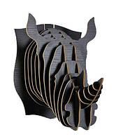 Навесная полка декоративная Носорог