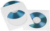 Конверт для дисков белый (100шт./уп.)