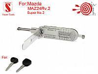 Автомобильные отмычки-декодеры (SUPER TOOLS) MAZ24Rv.2