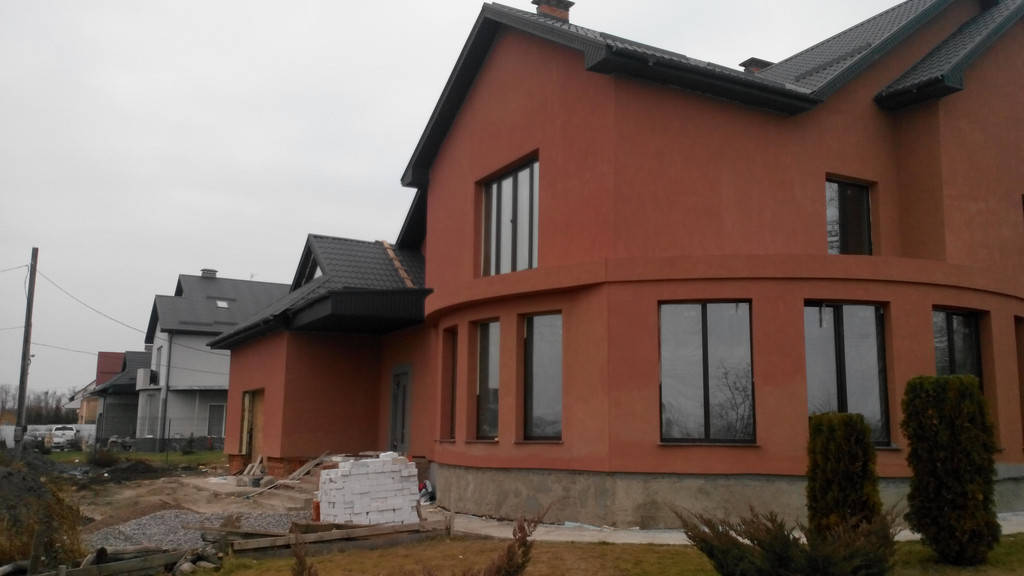 Строительство частного дома.
