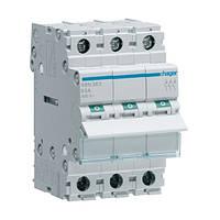 Выключатель нагрузки Hager 3-полюсный 400В/63А SBN363