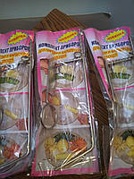 Комплект приборов для нарезки и фаршировки овощей