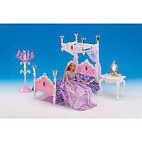 """Набор для кукол """"Спальня принцессы"""" Gloria 1214"""