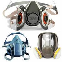Респираторы, маски, полумаски, противогазы.