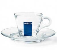 Чашка Lavazza капучіно скло 1 шт