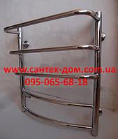 Полотенцесушитель водяной для ванной комнаты  Каскад 500*600мм/5полок нержавеющая сталь