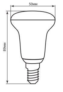 Светодиодная лампа 7w Е14 R50 Feron LB-450 2700K, фото 2