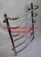 Полотенцесушитель водяной для ванной комнаты  Каскад 400*700мм/6полок нержавеющая сталь