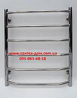 Полотенцесушитель водяной для ванной комнаты Трапеция 500*700мм/6полок нержавеющая сталь