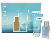 Mexx Ice Touch EDT 15 ml +гель душ  50ml W Туалетная вода женская (оригинал подлинник  Германия)