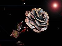 Кованая роза модель №1