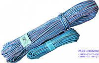 Шнур бельевой d 5 мм х 100 м. полипропиленовый