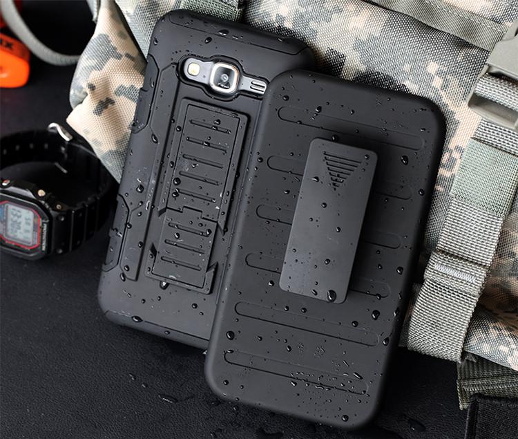 """SAMSUNG J3 2016 J320 TPU Противоударный защита 360* чехол бампер накладка + крепление для телефона """"ARM NAVY"""""""